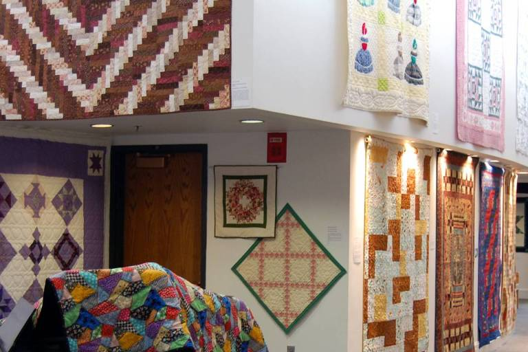 Quilt Art Exhibit at the GMCA